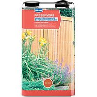 Wickes High Performance Wood Preserver 5L Red Cedar