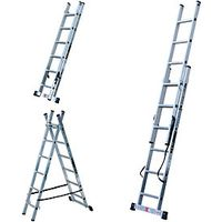 Youngman Professional 3 Way Combi Ladder 1.7m