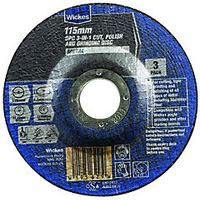 Wickes Universal Metal Disc 115mm Pack 3