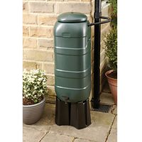Wickes Compact Water Butt Rain Saver Kit 100L