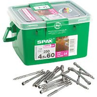 Spax Decking Screws 4.5 x 60mm Pack 250