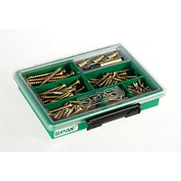 Spax Assortment Case 199 Piece