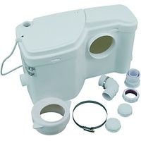 Wickes Plastic Macerator White