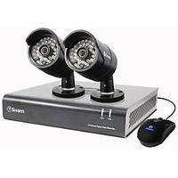 Swann SWDVK444002UK 4 Channel Digital Video Recorder with 2 HD Cameras