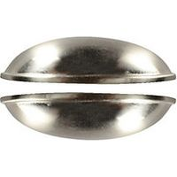 Wickes Cup Handles Brushed Nickel Finish 84mm 2 Pack