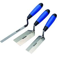Wickes Edging Trowel Set Pack 3