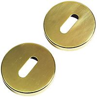 Urfic Escutcheon Standard Lock Plates Satin Nickel