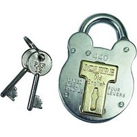 Squire 440 Old English Padlock 4 Lever Steel 52.5mm