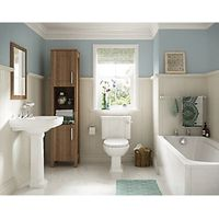 Wickes Standard Bath Front Panel White 1700mm