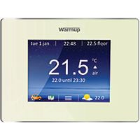 Warmup 4IE Wifi Bright Porcelain Underfloor Heating Thermostat