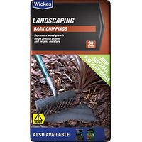 Wickes Bark Chippings 90L