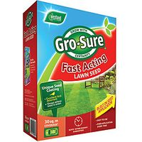 Gro-sure Fast Acting Lawn Seed 30m2