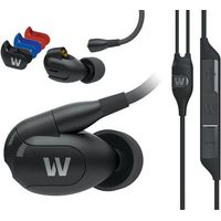 Westone W30 Triple Driver Earphones with built-in mic and removable cable (Box opened)