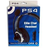 PlaySation 4 - Elite Chat Headset - Orb (PS4)