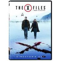 The X Files: I Want To Believe (1 Disc Edition with Exclusive Free X Files Poster)