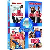 Dr. Dolittle / Dr. Dolittle 2 / Cheaper By The Dozen / Cheaper By The Dozen 2