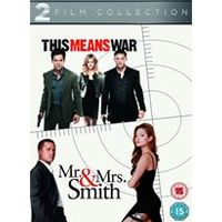 This Means War / Mr. and Mrs. Smith Double Pack
