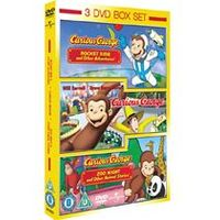 Curious George: Volume 1 / Curious George: Volume 2 / Curious George The Movie (3 Film Set)