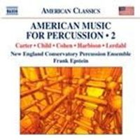 American Music for Percussion, Vol. 2 (Music CD)