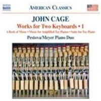 John Cage: Works for Two Keyboards, Vol. 1 (Music CD)