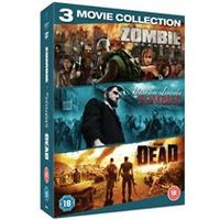 Zombie Triple (Zombie Apocalypse / Abraham Lincoln vs Zombies / The Dead)