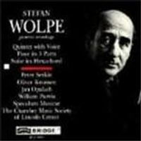 Wolpe: Quintet with Voice, Piano and 16 Instruments