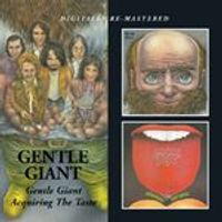 Gentle Giant - Gentle Giant/Acquiring The Taste (Music CD)