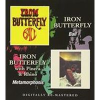 Iron Butterfly - Ball/Metamorphosis (Music CD)