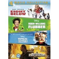 Disney Adventures 4DVD Box Set (8 Below, Flubber, Race to Witch Mountain, National Treasure)