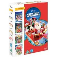 Disney Christmas Favourites 4DVD Box Set (Winnie The Pooh- a very pooh year, Countdown to Xmas, Celebrate Xmas with Mickey, Disney Xmas Favourites)