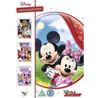 Mickey Mouse Clubhouse Triple: (Minnie Rella /Quest For Crystal Mickey/ Minnies Pet Salon)