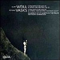 Vasks/Weill - Violin Concertos (Academy Of St Martin In The Fields) (Music CD)