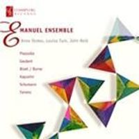 Emanuel Ensemble Plays Piazzolla, Gaubert, Bizet, Borne (Music CD)
