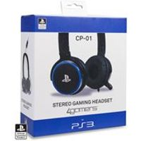 4Gamers CP-01 Gaming Headset -Black (PS3)