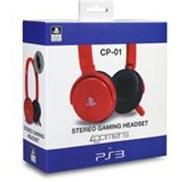 4Gamers CP-01 Gaming Headset -Red (PS3)