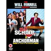 Old School / Anchor Man (Will Ferrell Box Set)(2 Disc)