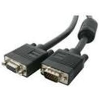 StarTech Coax High Resolution VGA Monitor Extension Cable VGA extender HD-15 (M) HD-15 (F) 7.6 m molded
