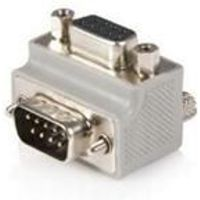 StarTech Right Angle DB9 to DB9 Serial Cable Adaptor Type 2 - M/F