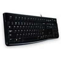 Logitech K120 USB Keyboard - UK Layout