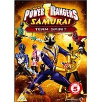 Power Rangers Samurai: Volume 3 - Team Spirit