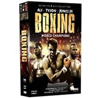 The Definitive Boxing World Champions 3 DVD Box Set - Muhammad Ali, Mike Tyson & Roy Jones Junior