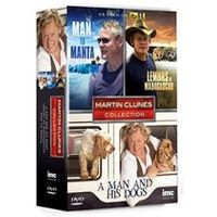 Martin Clunes 3 DVD Collection - A Man and His Dogs, Man to Manta & Lemurs of Madagascar
