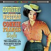 Connie Francis - Country & Western Connie Francis Style (Music CD)