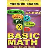 Basic Maths - Multiplying Fractions