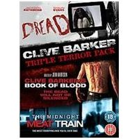 The Clive Barker Collection - Dread / Book Of Blood / Midnight Meat Train