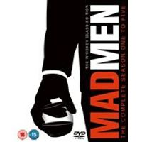 Mad Men 1-5 DVD: The Whiskey Glass Edition