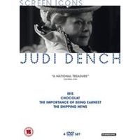Judi Dench - Screen Icons:Chocolat/ Iris /The Importance of Being Earnest /The Shipping News