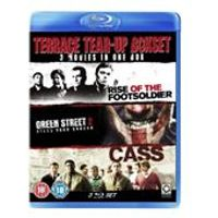 Terrace Tear-Up Box Set (Green Street 2/Cass/Rise of the Footsoldier) (Blu-ray)