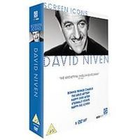 David Niven - Screen Icons Collection (Bonnie Prince Charlie, The Love Lottery, Happy Ever After, Eternally Yours and Happy Go Lovely)
