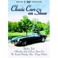 Classic Cars On Show (Box Set) (Three Discs)